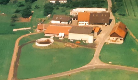 Unser Hof im Jahr 1997