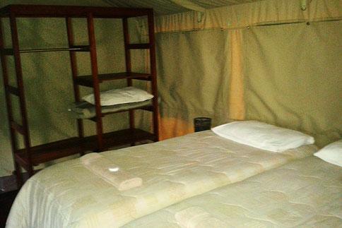 Zelt im Tlopi Tented Camp