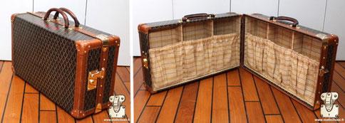 Goyard shoe case trunk suitcase