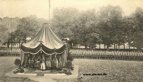 Feldgottesdienst auf dem Paradefeld an der Hammer Straße