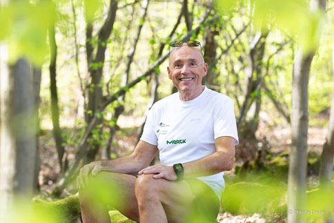 Dieter Mende Mitglied im Leitungsteam Darmstädter Lauf-Treff