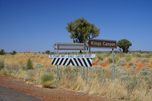 Australia Outback, Red Center Way, Kings Canyon