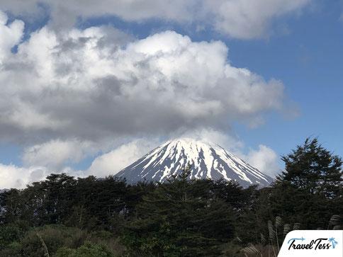Mount Doom in Nieuw-Zeeland