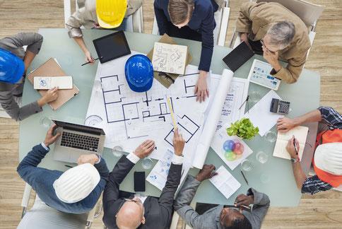 Beteiligte im Wohnungsbau