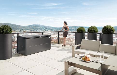 Kissenbox Balkon