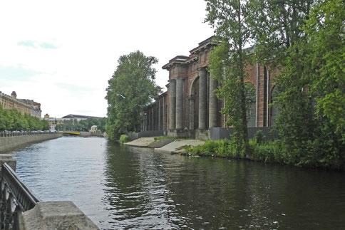 Torbogen von Neu-Holland an der Moika
