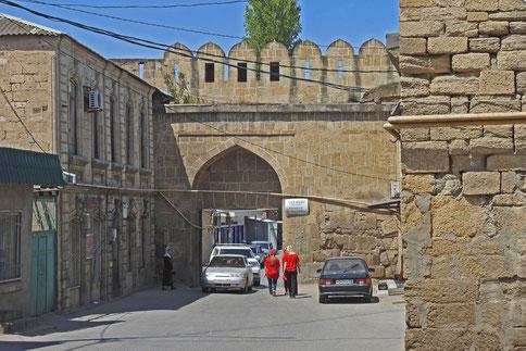 Derbent Altstadt Stadtmauer