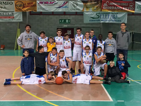 L'Under 14 CSI con coach Mondino - Roberta Cravero ph