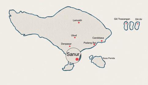 Bali - Sanur - Weltreise Blog und Reiseziele - Travel um die Welt