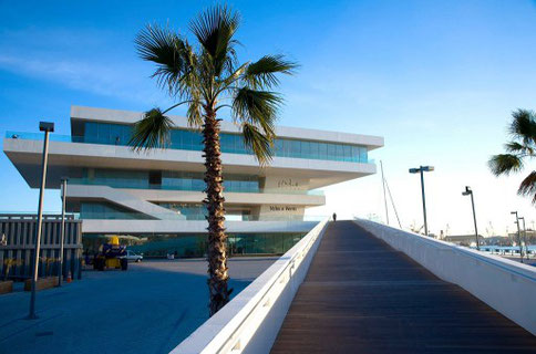 Veles a Vents Hafen Valencia Americas Cup David Chipperfield