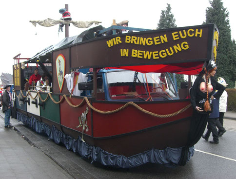 Karnevalswagen barrierefrei Kamellewurfmaschine Sonderumbau Sodermanns