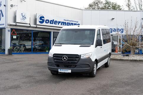 Mercedes-Benz Sprinter Selbstfahrerumbau, Space Drive, 4-Wege-Joystick, Sprachsteuerung, Kassettenlift, Sodermanns