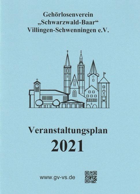 Veranstaltungsplan 2021