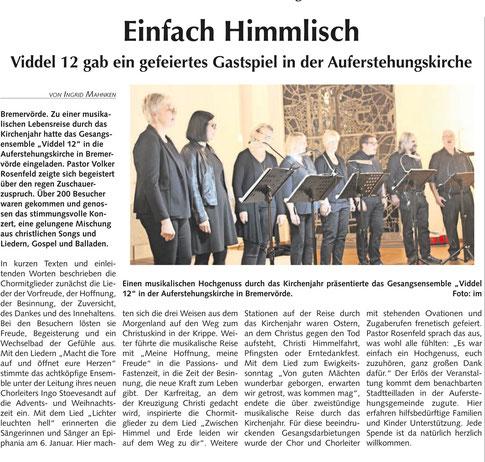 Bremervörder Anzeiger, 03.11.2019