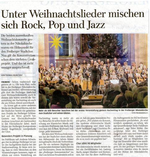 Freie Presse, 07.12.2015