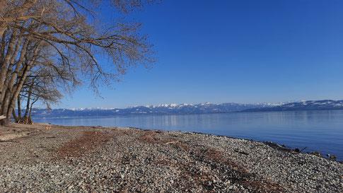 Noch ruht der See. April 2021
