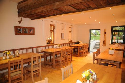 Unsere kleine Kuhstallstubn (Nebenzimmer) mit 40 Sitzplätzen