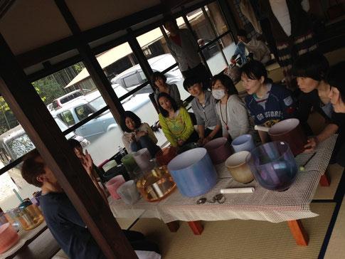 2014年4月 高村昌寿先生とのコラボVol.1                       香取ルーラル古民家にて