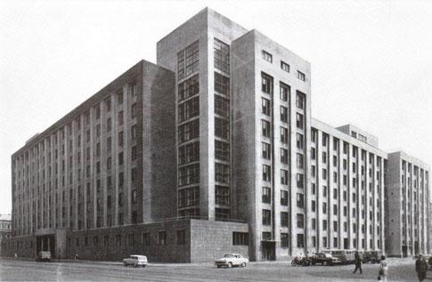 Здание ГПУ в Лениграде. Литейный пр., дом 4