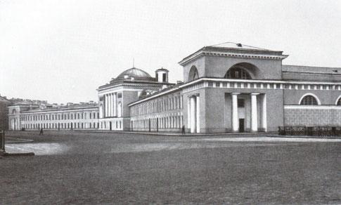 Конюшенная площадь, дом 1. фото 1967 года