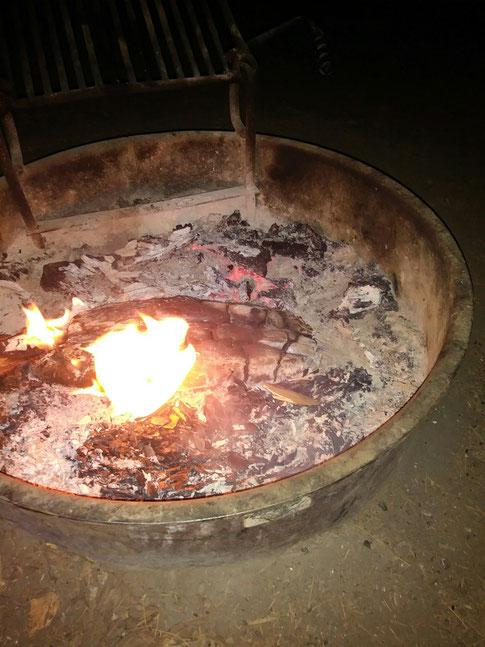 Feuer zum Wårmen