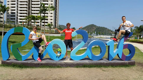 Die Trainingsgruppe Nerius in Rio, Bild: privat