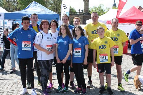 Die KiO-Läufergruppe, Bild: KiO