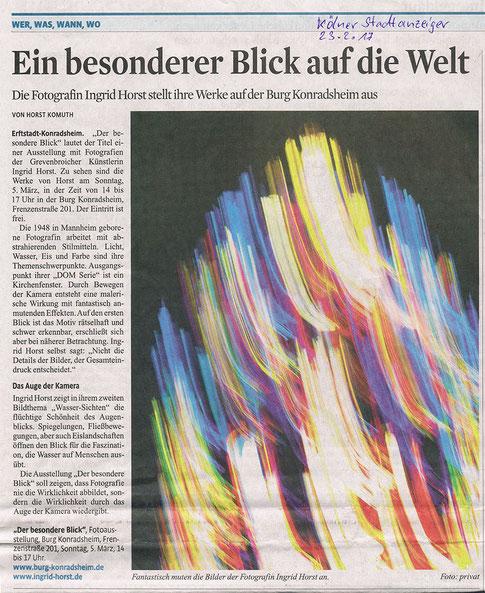 Kölner Stadtanzeiger vom 23.02.2017
