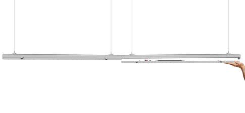 Lichtbänder Cs Serie T20 Serie T8 Lichtband Rotasystem