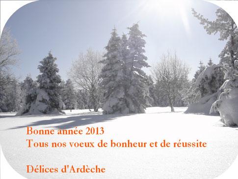 délices Ardèche 2013