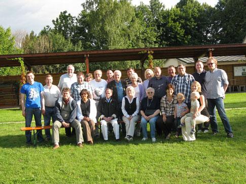 Mitglieder und enge Freunde des PTSV - SK Hof 1892