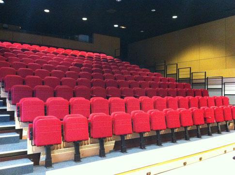 La salle est prête pour l'opéra