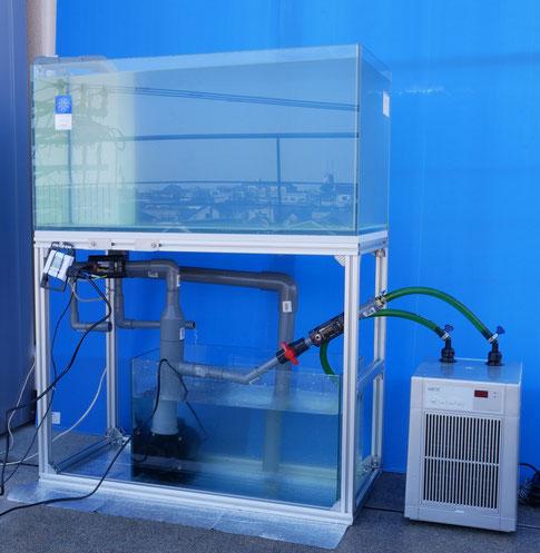 hsbao DEP-2500 水槽 塩ビ配管 オーバーフロー水槽 水中ポンプ DCポンプ