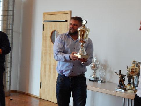 Der Vereinsvorsitzende war auch 2017 bei zahlreichen Wettkämpfen dabei.