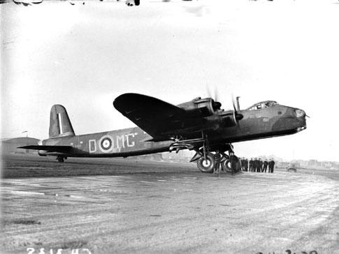 Bombardier Stirling Mk III de la Royal Air Force