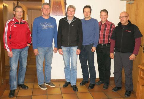 Das Vorstandsteam (2014): Ingo Pies, Thomas Wieners, Peter Nissen, Ulf Lucas, Bernd Müller und Helmut Gerland (C) Peter Nissen.