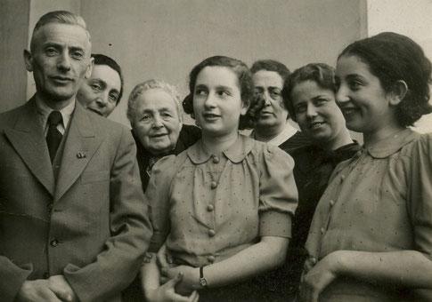 Familie Goldschmidt aus Hofgeismar, der 1939 die Flucht nach Amerika gelang.