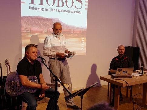 Richie Arndt, Dr. Klaus-Peter Lorenz und Fredy Gareis (v.l.) Foto: Frank Wiederhold