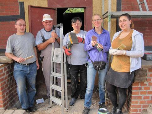 Die Teilnehmer des Freiwilligentags 2018 (Foto: Freiwilligenzentrum Kassel).
