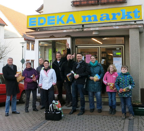 EDEKA markt Hilgenberg (Foto: Ortsbeirat Hümme)
