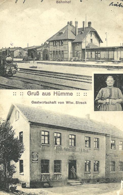 Repro Postkarte: Geschichtskreis Hümme.