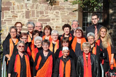 Gruppenbild Volkschor (Foto: Reinhold Siebert).