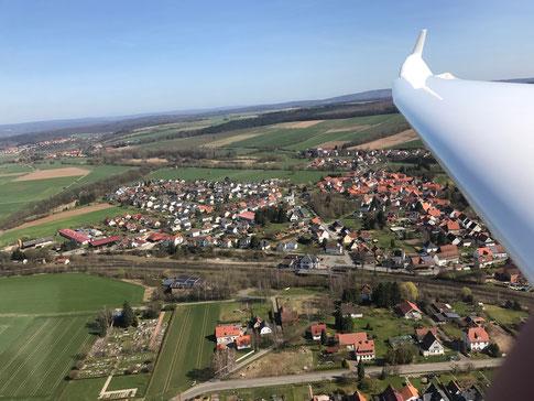 Blick auf Hümme, Stadtteil von Hofgeismar (Foto: Steffen Brill)