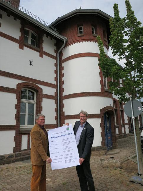 Klaus Matthes und Peter Nissen stellten das aktuelle Programm vor (Foto: P. Nissen).