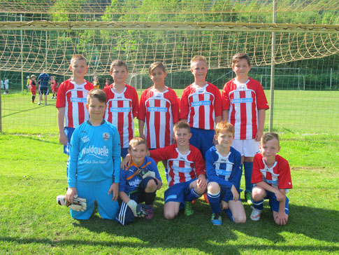 unser erfolgreiches Team (in Spielgemeinschaft mit VS Oberpetersdorf)