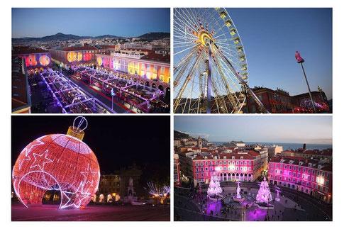 Marché de Noêl à Nice