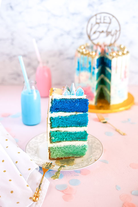 Ombré-Cake