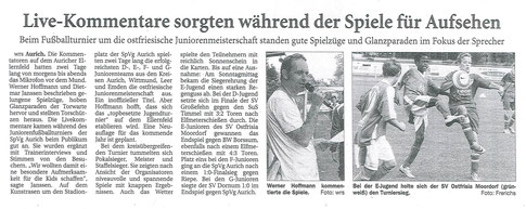 Ostfriesische Nachrichten vom 16.07.2014
