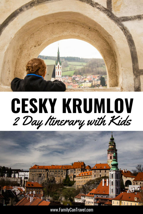 Cesky Krumlov is truly a fairy tale town in the Czech Republic that should not be missed! Here are the best things to do in Cesky Krumlov with children! #ceskykrumlov #czechrepublic #travelwithkids #hikingwithkids #familytravel #toddlertravel #traveltips