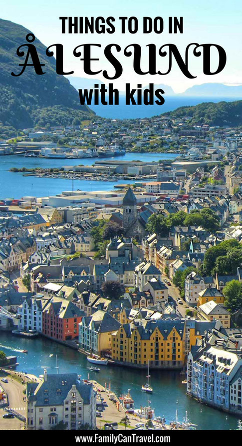 Here are the best things to do in Alesund, Norway with kids! | Family Travel | Norway with kids | Travel with kids | Toddler Travel | #familytravel #toddlertravel #travelwithkids #Norway #Alesund